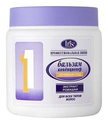 Бальзам-кондиционер №1. Бережный уход с экстрактом ромашки, для всех типов волос  IRIS cosmetic