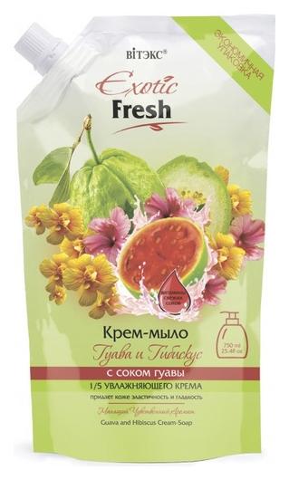 Exotic fresh крем-мыло гуава и гибискус   Белита - Витекс