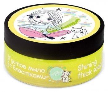 Мыло густое Маракуйя с блестками