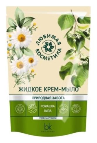 Жидкое крем-мыло с экстрактом ромашки и липы  Belkosmex