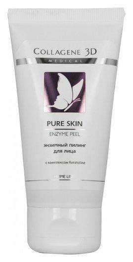 "Гель-плинг для лица энзимный ""Pure skin""  Medical Collagene 3D"