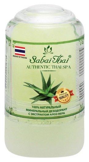 Минеральный дезодорант с экстрактом алоэ  Sabai Thai