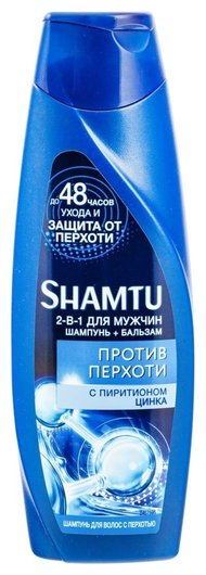 Шампунь Против перхоти для мужчин с пиритионом цинка  Shamtu