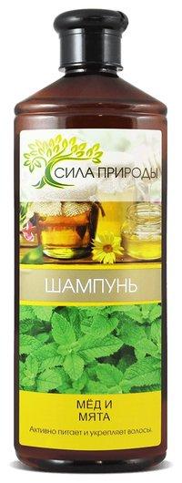 Шампунь для волос Мед и мята  SANATA cosmetics