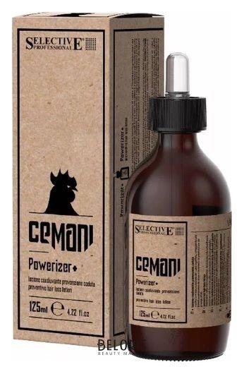 Лосьон Powerizer + лосьон профилактический против выдения волос  Selective Cemani