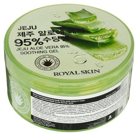 Многофункциональный гель для лица и тела с 95% содержанием алоэ Royal Skin