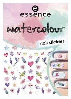 Наклейки для ногтей Watercolour nail stickers №7  Essence