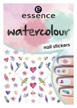 """Наклейки для ногтей №7 """"Watercolour nail stickers"""""""