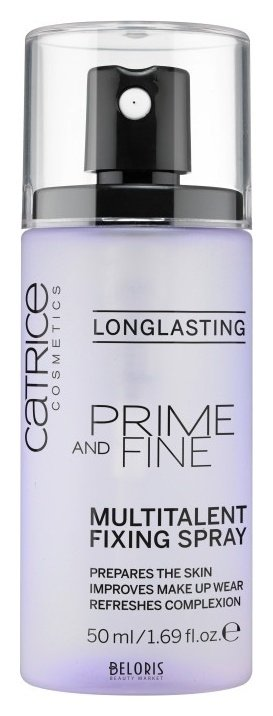 Купить Спрей для лица Catrice, Фиксирующий спрей для макияжа Prime and fine multitalent fixing spray , Германия