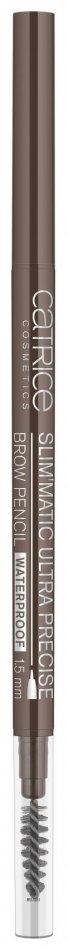 Купить Карандаш для бровей Catrice, Контур для бровей Slim'Matic Ultra Precise Brow Pencil Waterproof , Германия, Тон 040 Cool brown