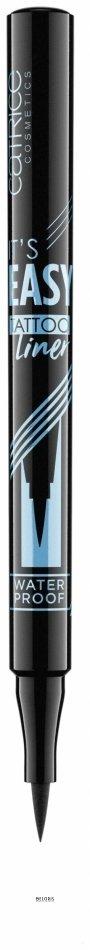 Купить Подводка (лайнер) для глаз Catrice, Водостойкая подводкадляглаз It's easy tattoo liner waterproof black 010 , Германия