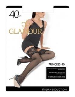 Женские чулки Princess 40 Den  Glamour