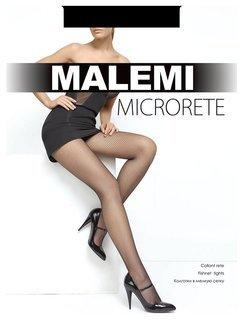Женские колготки в мелкую сетку Microrete  Malemi
