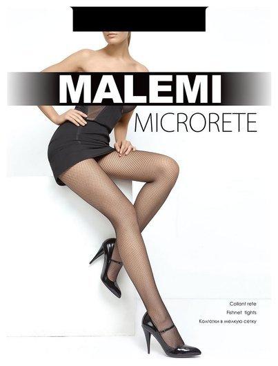Колготки в мелкую сетку Microrete  Malemi