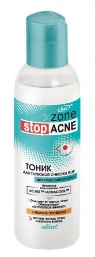 Тоник для глубокой очистки пор Белита - Витекс Zone Stop Acne