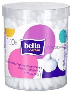 Ватные палочки гигиенические 100  Bella