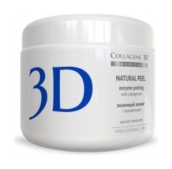 Пилинг с коллагеназой Natural Peel  Medical Collagene 3D