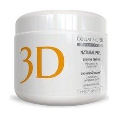 Пилинг с папаином и экстрактом шисо Natural Peel  Medical Collagene 3D