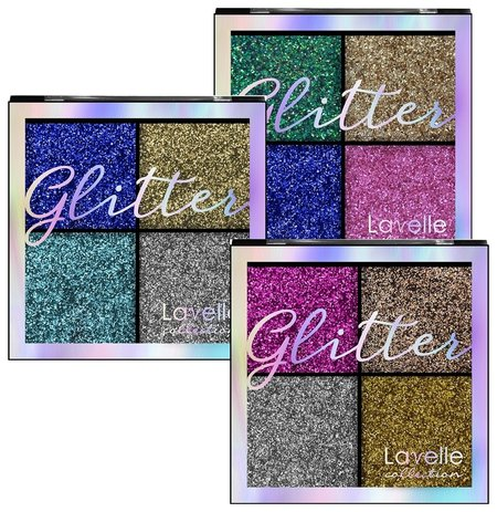 Тени для век Glitter  Lavelle