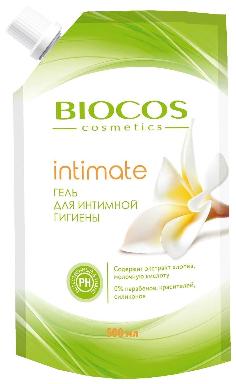 Гель для интимной гигиены с экстрактом хлопка и молочной кислотой  BioCos