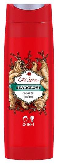 Гель для душа 2в1 Bearglove  Old Spice