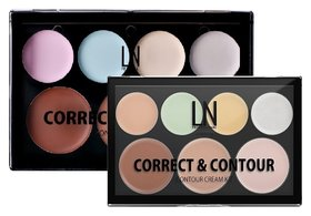 Набор для макияжа Correct & Contour Cream Kit  LN Professional