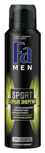 Дезодорант аэрозоль Спорт Взрыв энергии  FA