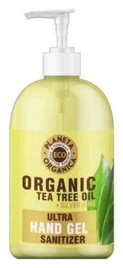 Универсальный гель для рук с маслом чайного дерева  Planeta Organica