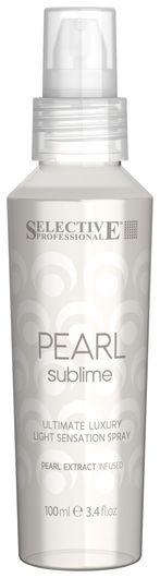 Спрей для придания блеска с экстрактом жемчуга для всех типов волос Selective Professional