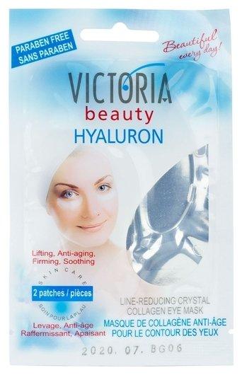 Кристальная коллагеновая маска-патчи против морщин для области вокруг глаз  Victoria beauty