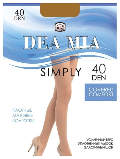 Колготки Dea Mia Simply 40 Den  Брестский чулочный комбинат