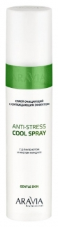 Спрей очищающий с охлаждающим эффектом Anti-stress cool spray  Aravia Professional