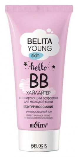 BВ-хайлайтер для молодой кожи с тонирующим эффектом Безупречное сияние