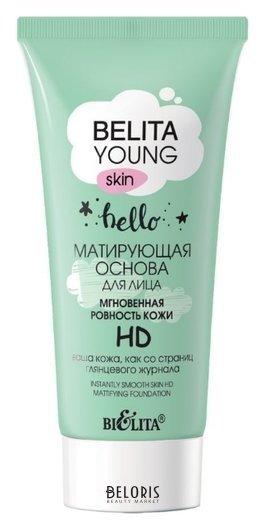 Матирующая основа для лица Мгновенная ровность кожи hd Белита - Витекс young skin