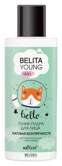 Тоник-пудра для лица Матовая безупречность Белита - Витекс young skin