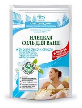 Илецкая соль для ванн для снятия стресса и усталости