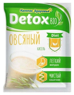 Кисель detox bio Diet Овсяный  Компас здоровья