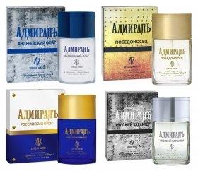 Туалетная вода Адмиралъ  Apple Parfums