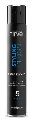 Лак для волос экстрасильной фиксации Extra strong  Nirvel