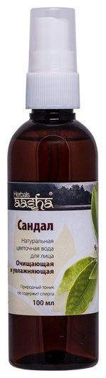 Цветочная вода Сандал  Aasha Herbals