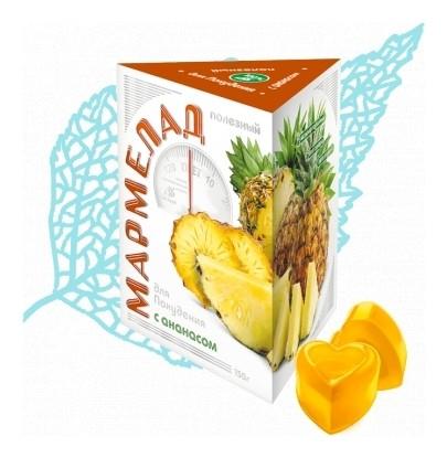 Мармелад с ананасом для похудения  Сиб-КруК