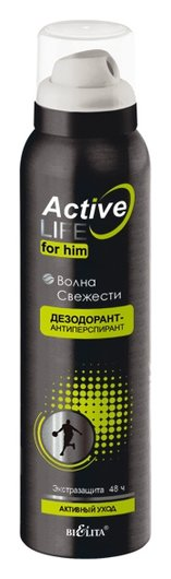 Дезодорант-антиперспирант  волна свежести  Белита - Витекс