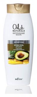 Крем-гель для душа с маслами авокадо и кунжута