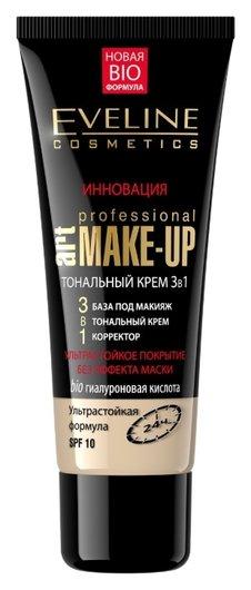 Тональный крем 3 в 1 ART Make-UP Eveline Cosmetics
