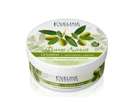 "Еveline Фито линия ""Оливки + протеины шелка""  Eveline Cosmetics"