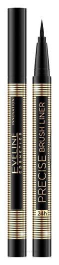 Подводка Eveline ультрастойкая Precise brush liner (с кисточкой)
