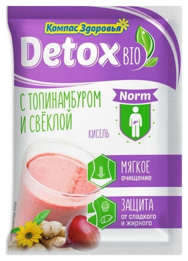 Кисель с топинамбуром и свеклой Detox bio norm  Компас здоровья