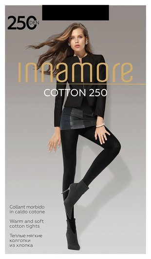 Колготки Cotton 250 Den  Innamore