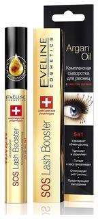 Тушь-сыворотка sos lash booster для роста ресниц 5 в 1 Eveline Cosmetics