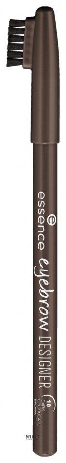 Купить Карандаш для бровей Essence, Карандаш для бровей Eyebrow designer , Германия, Тон 10 Dark chocolate